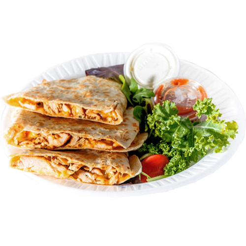 Chipotle Chicken Quesadilla - Jack Cheese, Cheddar, Pico de Gallo, Onion, Cilatro