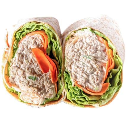 Classic Tuna Wrap (Tuna Salad, Carrot, Lettuce )