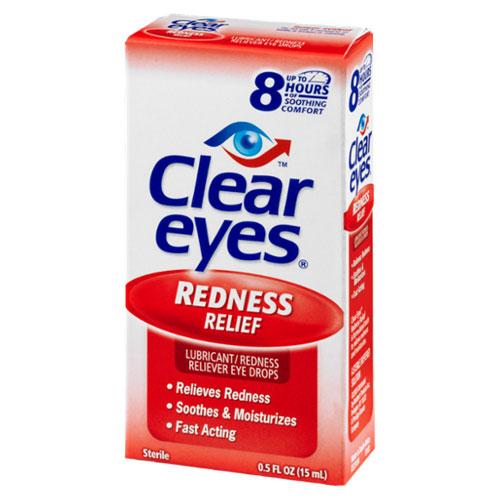 CLEAR EYES REDNESS RELIEF EYE DROPS 5oz