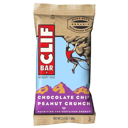 CLIF BAR CHOCOLATE CHIP PEANUT CRUNCH 2.4oz