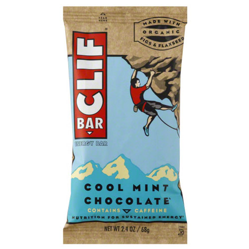 CLIF BAR COOL MINT CHOCOLATE ENERGY BAR 2.4oz