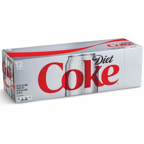 COCA COLA DIET COKE CAN 12pk