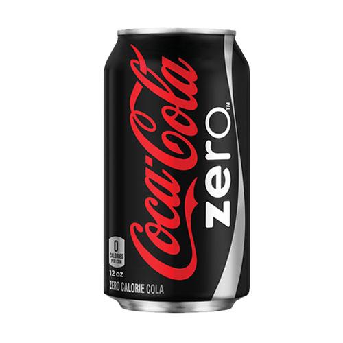 COCA COLA ZERO CAN 12oz