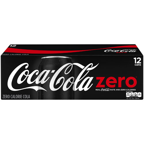 COCA COLA ZERO CAN 12pk