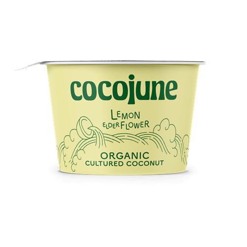 COCOJUNE ORGANIC CULTURED COCONUT LEMON ELDERFLOWER 4oz