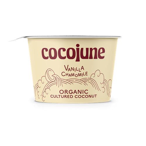 COCOJUNE ORGANIC CULTURED COCONUT VANILLA CHAMOMILE 4oz
