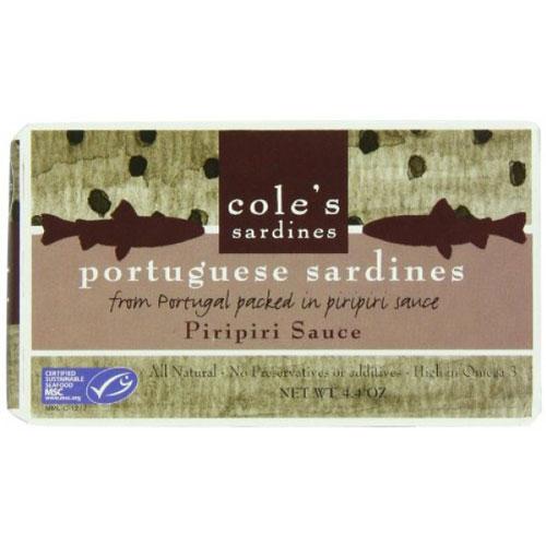 COLES SARDINES PORTUGUESE PIRIPIRI 4.4oz