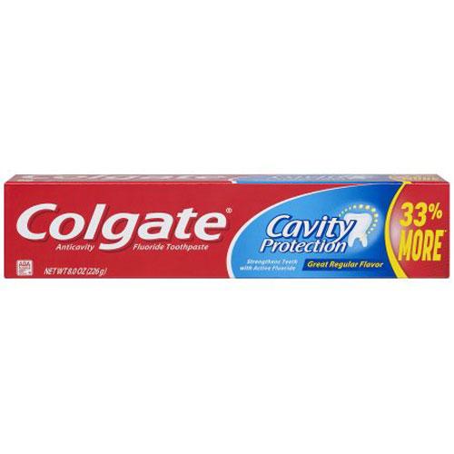 COLGATE TOOTHPASTE CAVITY PROTECTION 8oz