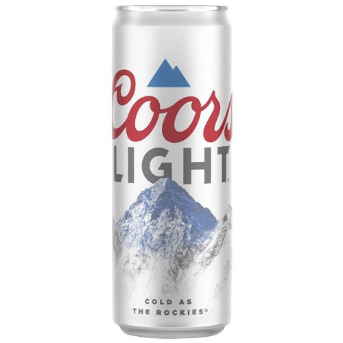 COORS LIGHT CAN 24oz