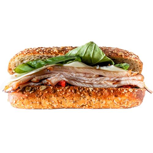 Cordon Bleu - Breaded Chicken Cutlet, Ham, Swiss, Lettuce, Tomato, Honey Mustard