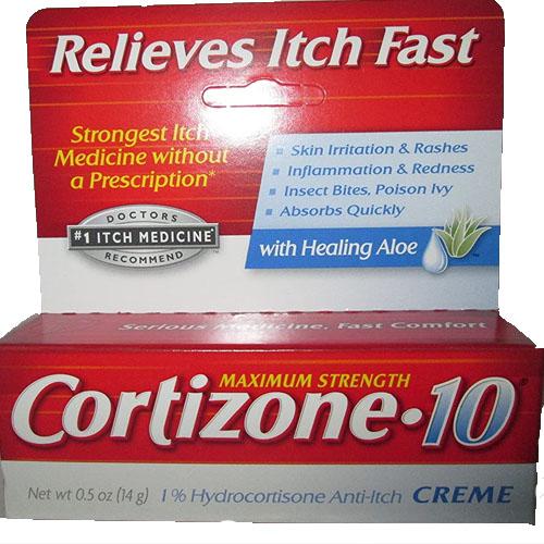 CORTIZONE - 10 ANTI-ITCH CREAM 0.5oz