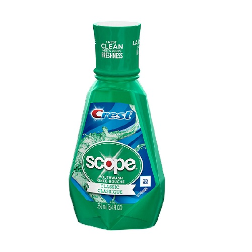 CREST SCOPE CLASSIC MOUTHWASH 8.4oz