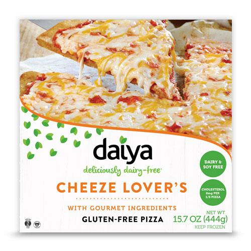DAIYA GLUTEN FREE DAIRY FREE CHEESE LOVERS PIZZA 15.7oz