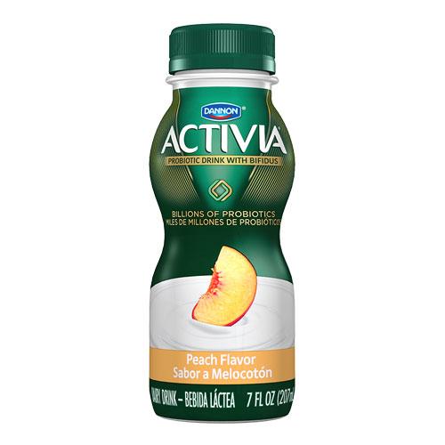 DANNON ACTIVIA PROBIOTIC DRINK PEACH 7oz