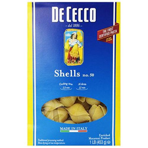 DE CECCO SHELLS #50 16oz