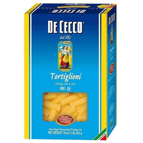 DE CECCO TORTIGLIONI #23 16oz