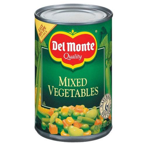 DEL MONTE MIXED VEGETABLE 14.5oz