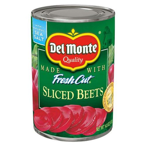 DEL MONTE SLICED BEETS 14.5oz