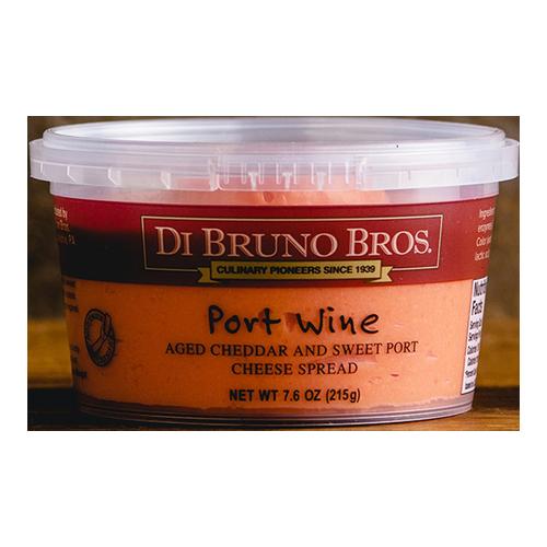 DI BRUNO BROS CHEESE SPREAD PORT WINE 7.6oz.
