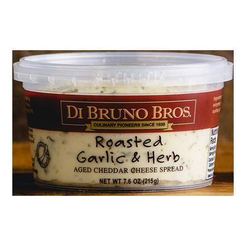 DI BRUNO BROS CHEESE SPREAD ROASTED GARLIC&HERB 7.6oz.