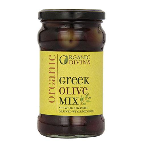 DIVINA OLIVES GREEK MIX 10.2oz