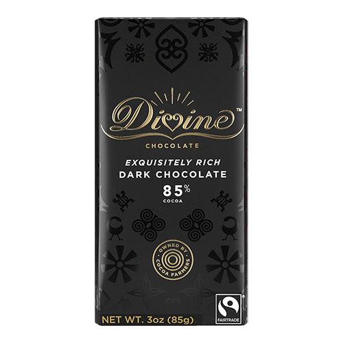 DIVINE DARK CHOCOLATE 85% 3oz
