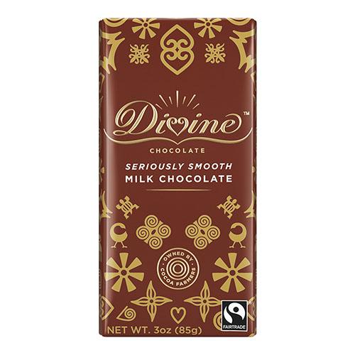 DIVINE MILK CHOCOLATE 3oz