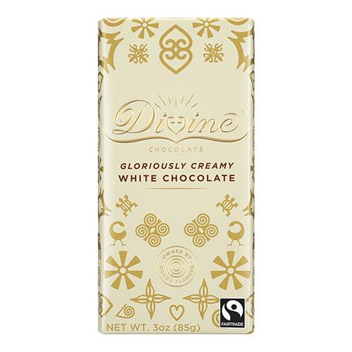 DIVINE WHITE CHOCOLATE 3oz