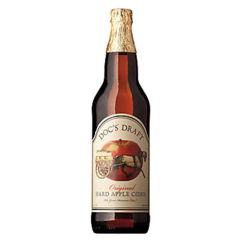 DOC'S DRAFT  APPLE CIDER 22oz