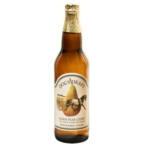 DOC'S DRAFT HARD PEAR CIDER 22oz