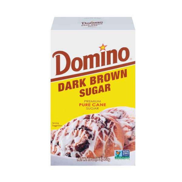 DOMINO DARK BROWN SUGAR 16oz
