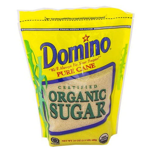 DOMINO ORGANIC SUGAR 24oz