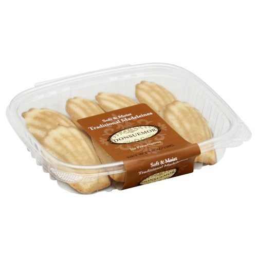 DONSUEMOR TRADITIONAL MADELEINES 4.8oz