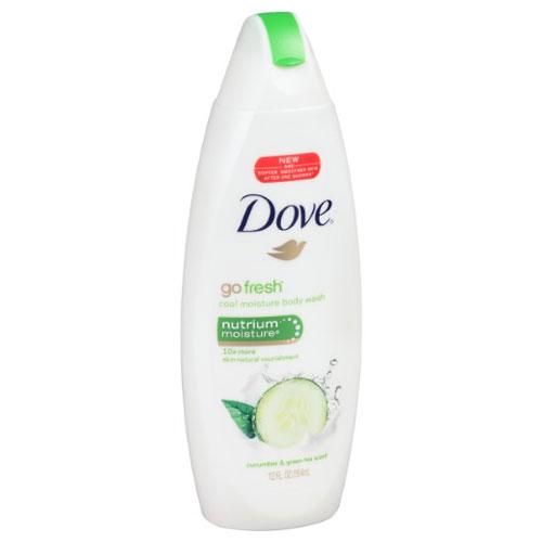 DOVE CUCUMBER &GREEN TEA BODY WASH 12oz