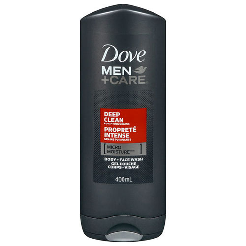 DOVE MEN +CARE BODY FACE WASH DEEP CLEAN 13.5oz