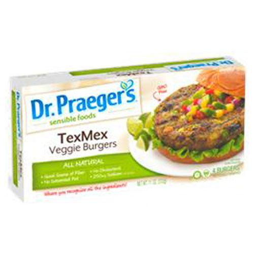 DR. PRAEGERS BUGERS VEGGIE TEXMEX 11oz