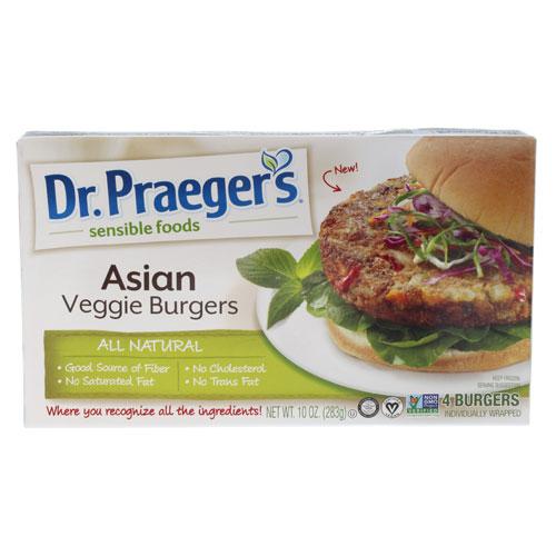 DR.PRAEGERS BURGERS VEGGIE ASIAN 10oz