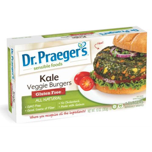 DR.PRAEGERS BURGERS VEGGIE KALE 10oz