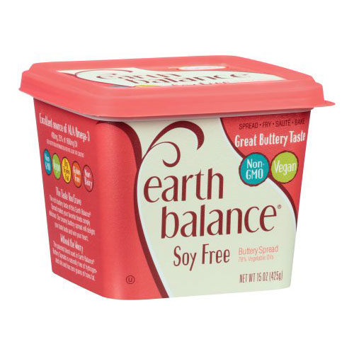EARTH BALANCE VEGAN SOY FREE BUTTERY SPREAD 15oz.