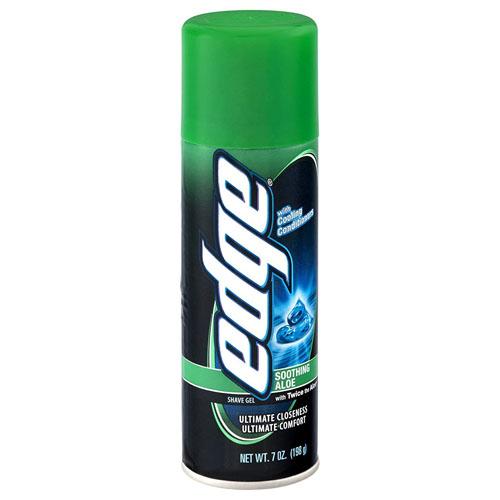 EDGE SHAVING GEL SOOTHING ALOE 7oz