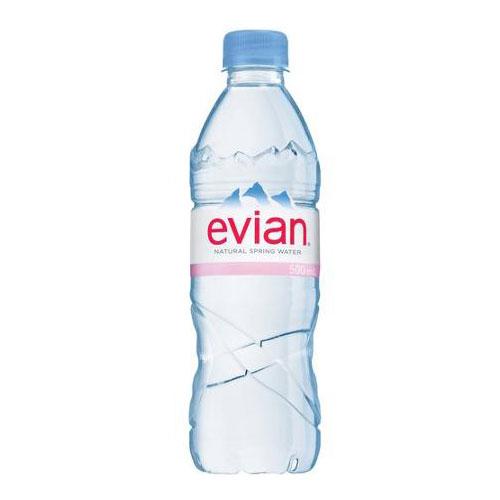 EVIAN NATURAL SPRING WATER 16oz