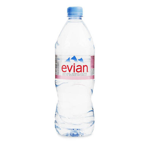 EVIAN NATURAL SPRING WATER 1l