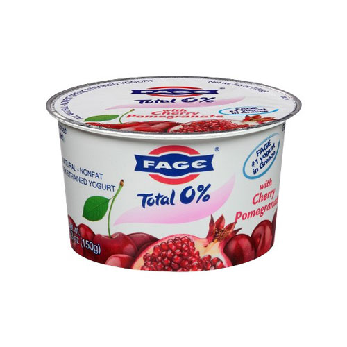 FAGE GREEK YOGURT 0%  CHERRY & POMEGRANATE 5.3oz