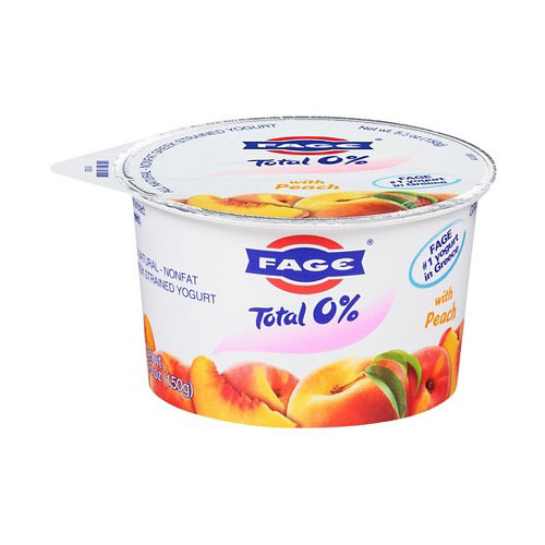 FAGE GREEK YOGURT 0% PEACH 5.3oz