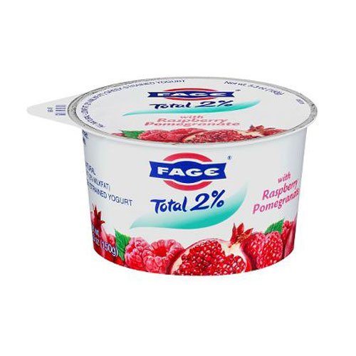 FAGE GREEK YOGURT 2% RASPBERRY 5.3oz