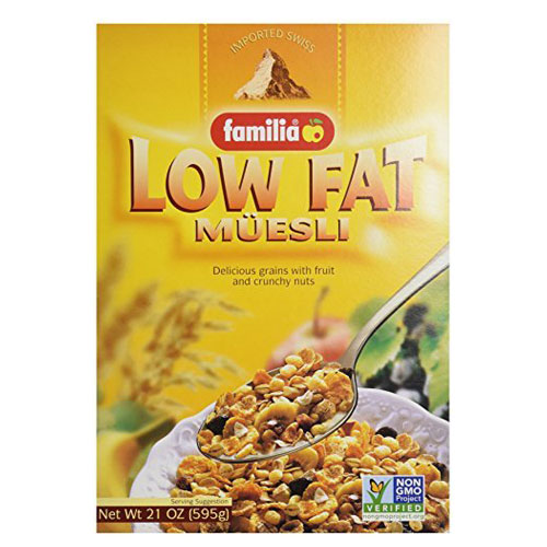 FAMILIA MUESLI LOW FAT 21oz