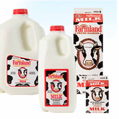 FARMLAND WHOLE MILK 1qt
