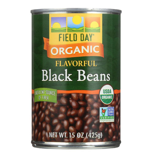 FIELD DAY  ORGANIC BLACK BEANS 15oz