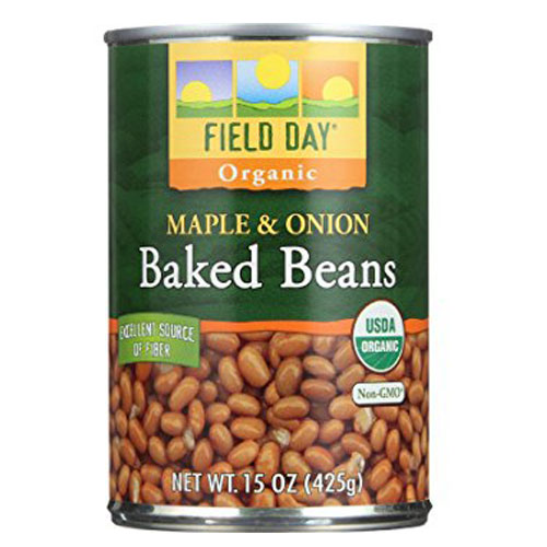 FIELD DAY ORGANIC MAPLE & ONION BAKED BEANS 15oz