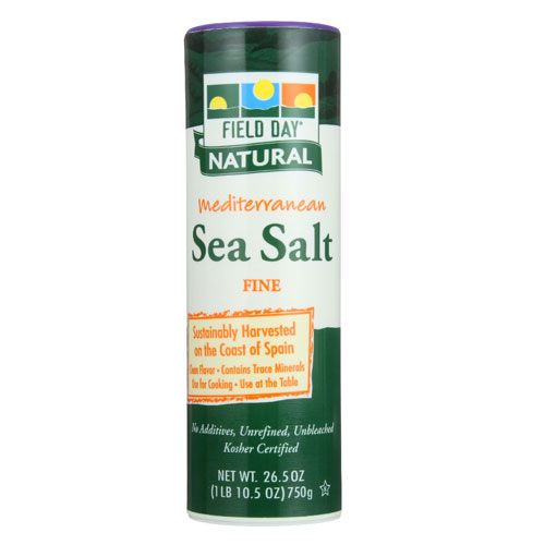 FIELD DAY  SEA SALT FINE 26.5oz